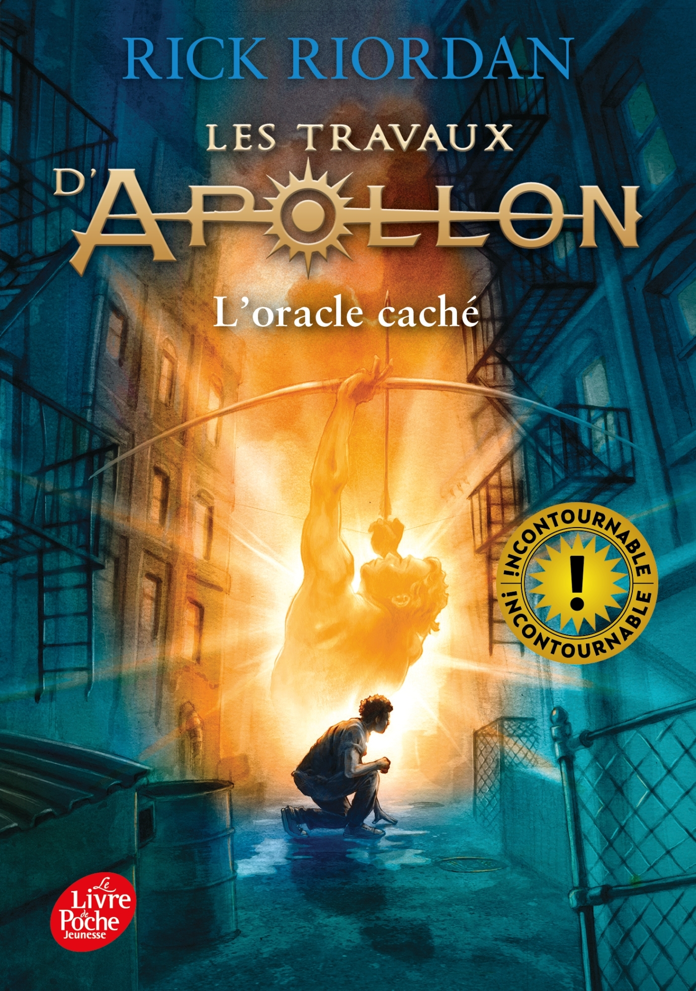 LES TRAVAUX D'APOLLON - TOME 1 - L'ORACLE CACHE
