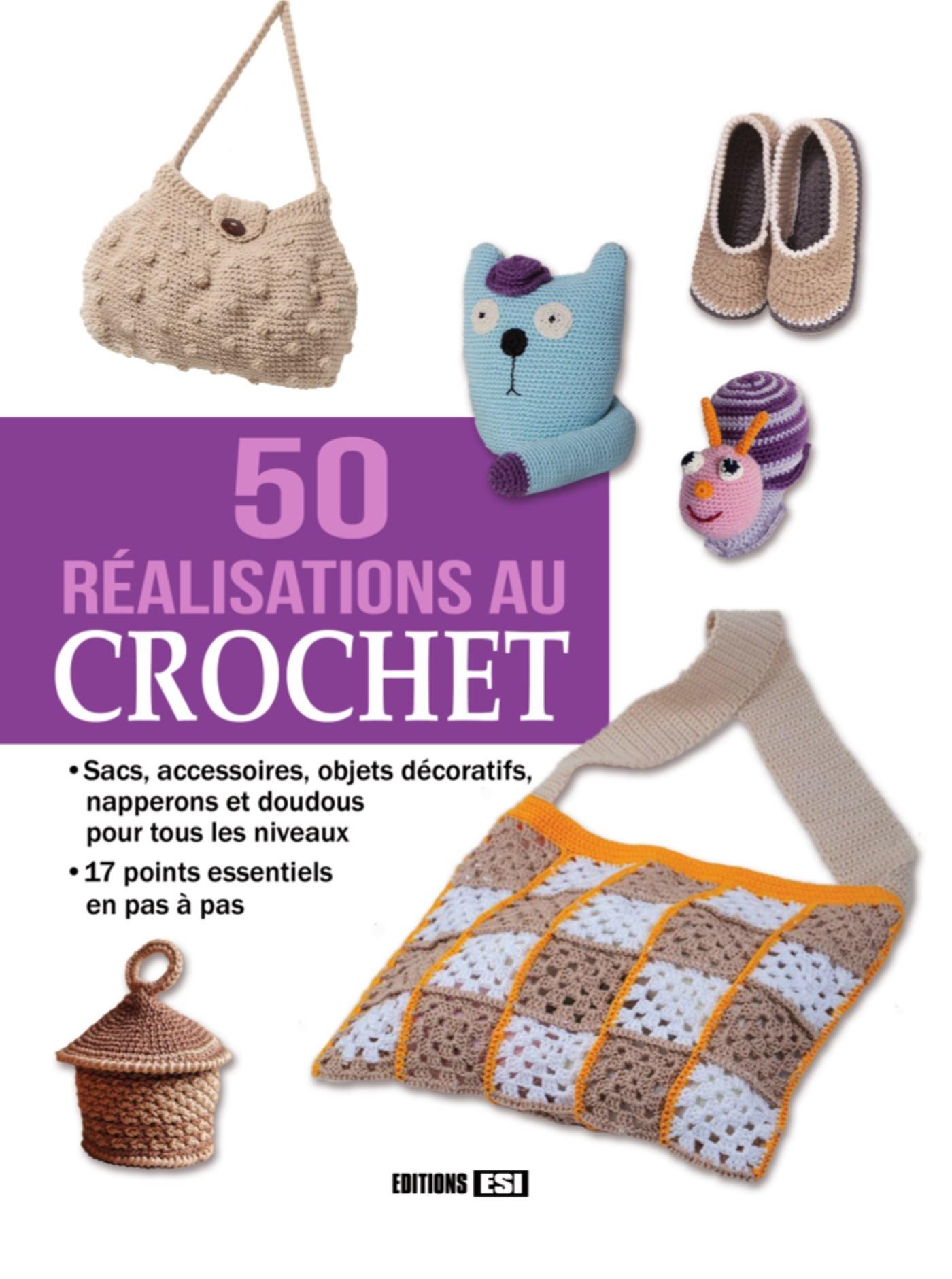 50 REALISATIONS AU CROCHET
