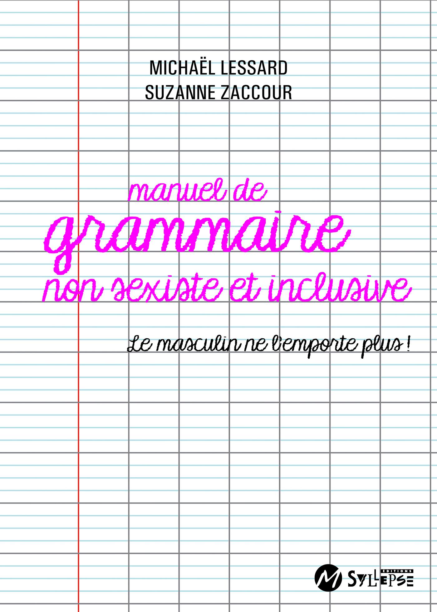 MANUEL DE GRAMMAIRE NON SEXISTE