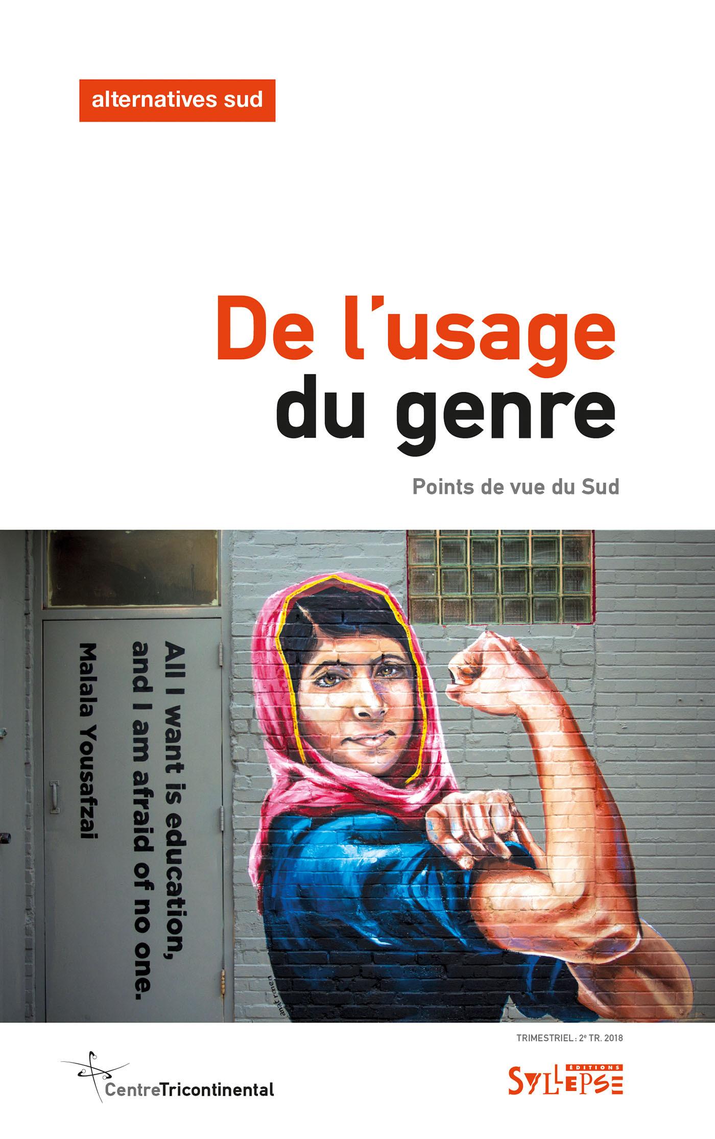 DE L'USAGE DU GENRE