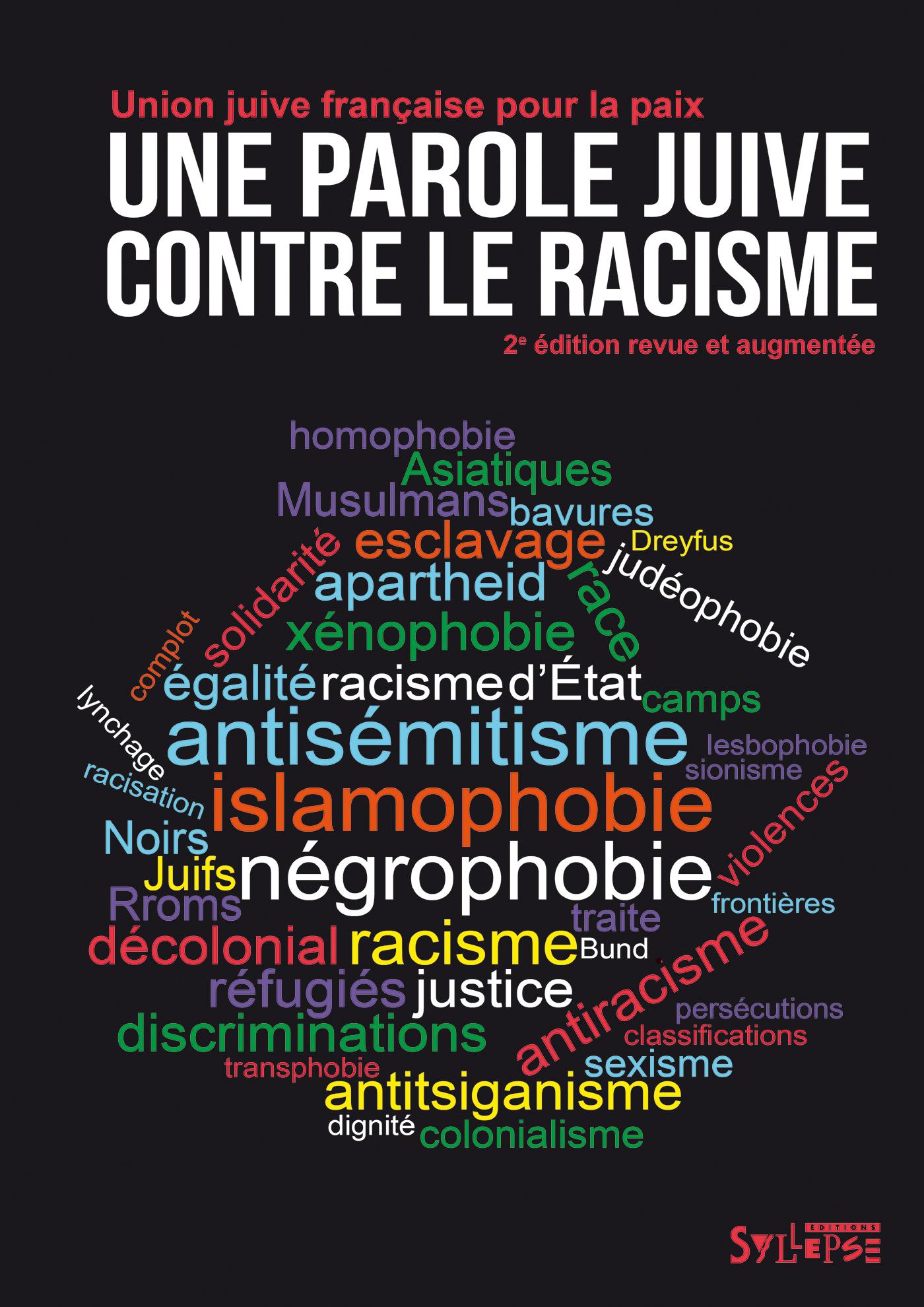PAROLE JUIVE CONTRE LE RACISME (UNE)