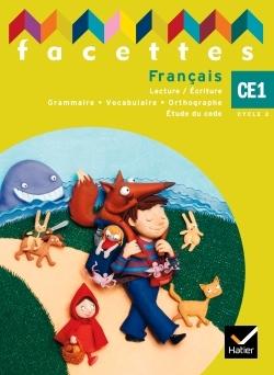 FACETTES CE1, MANUEL ELEVE (NON VENDU SEUL) COMPOSE LE 9653445