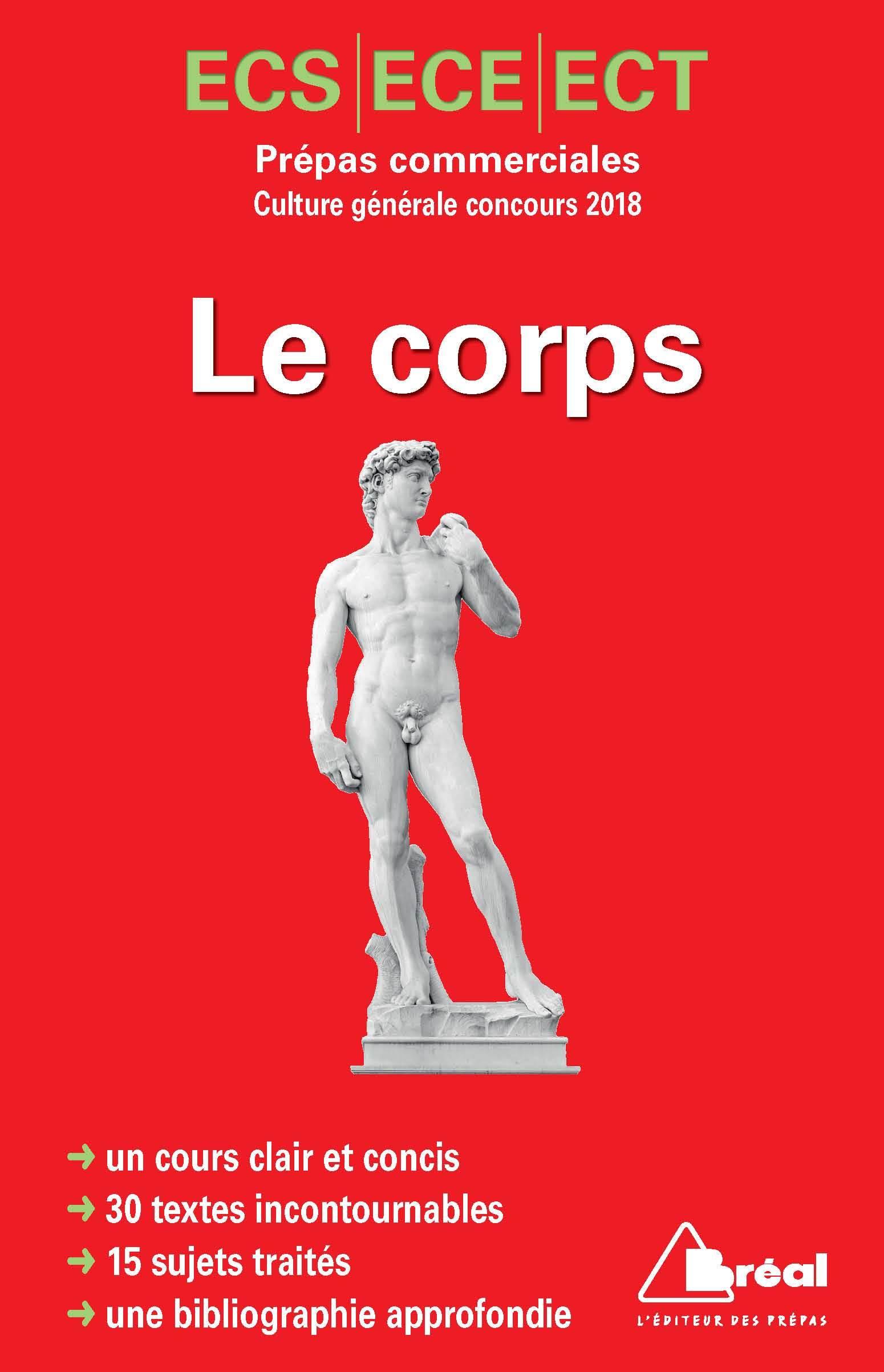 CORPS (LE) PREPAS COMMERCIALES CULTURE GENERALE CONCOURS 2018