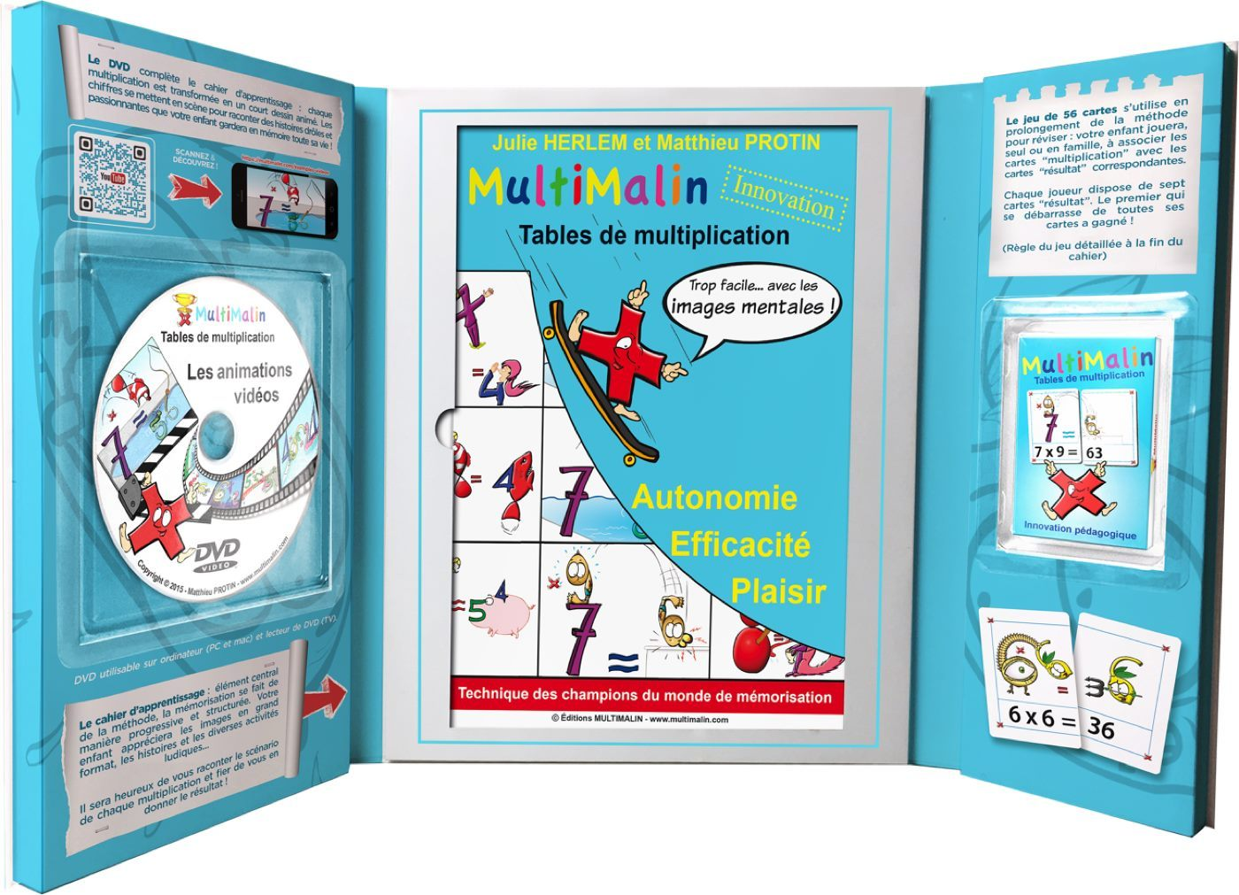 COFFRET MULTIMALIN DE MULTIPLICATION