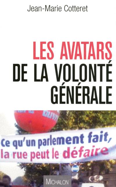 AVATARS DE LA VOLONTE GENERALE