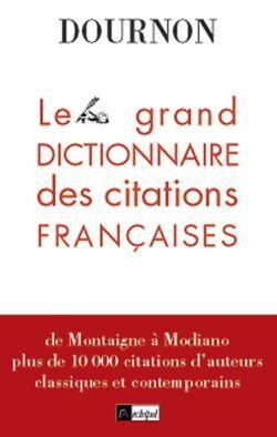 LE GRAND LIVRE DES CITATIONS FRANCAISES