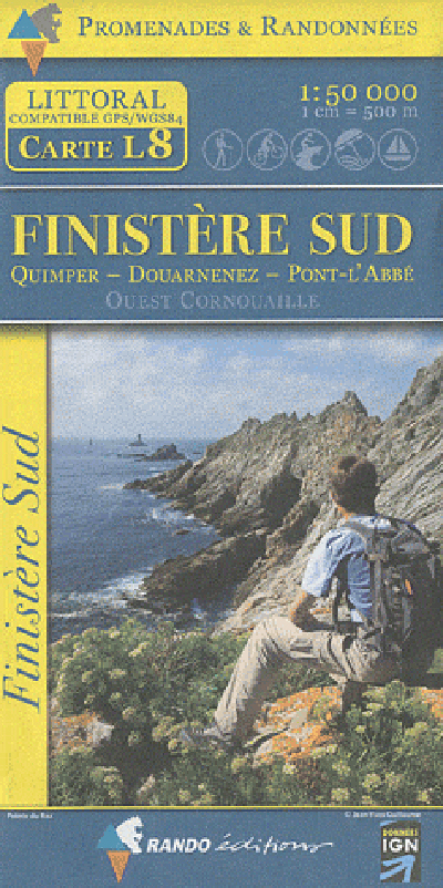 FINISTERE SUD  1/50.000