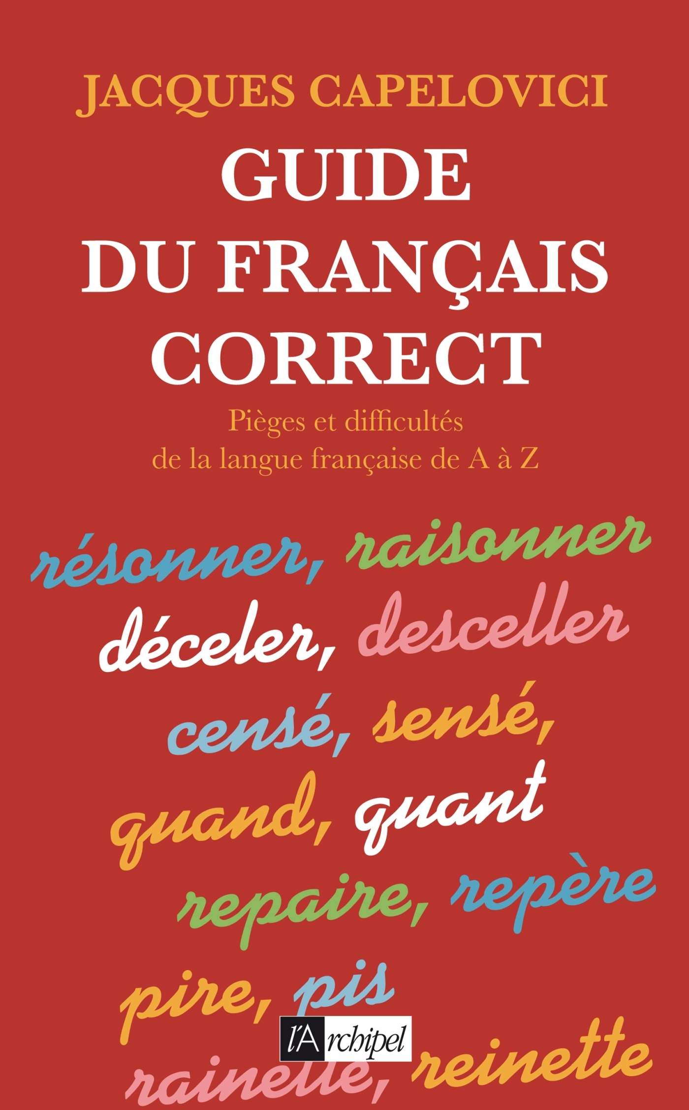 GUIDE DU FRANCAIS CORRECT