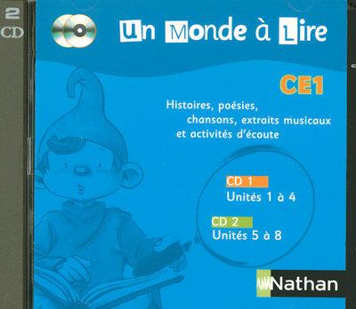 MONDE A LIRE CE1 CD