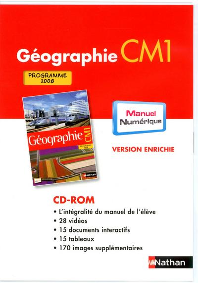DVD ROM GEOGRAPHIE - MNVPE - TNA
