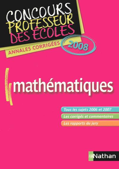 ANNALES CORRIGES DU CRPE-MATHE