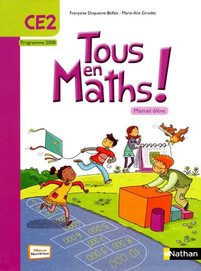 TOUS EN MATHS CE2 MANUEL
