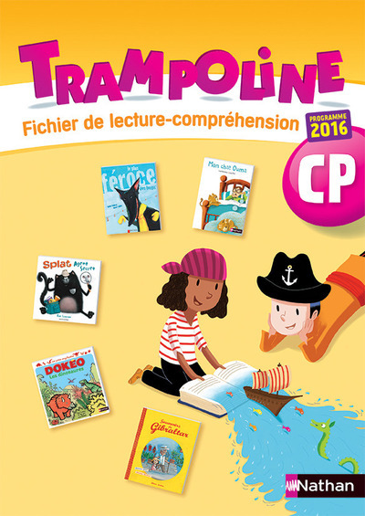 TRAMPOLINE - METHODE DE LECTURE - FICHIER DE COMPREHENSION - CP