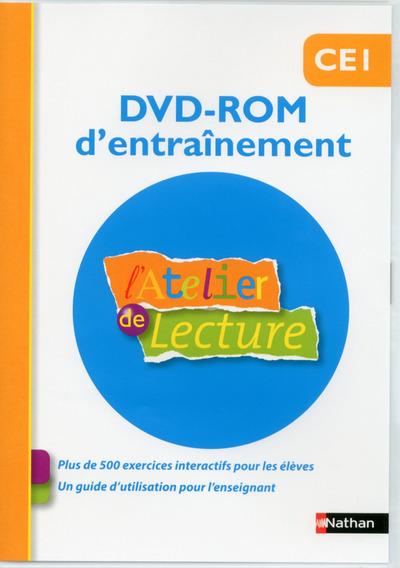 L'ATELIER DE LECTURE DVD-ROM ENTRAINEMENT CE1