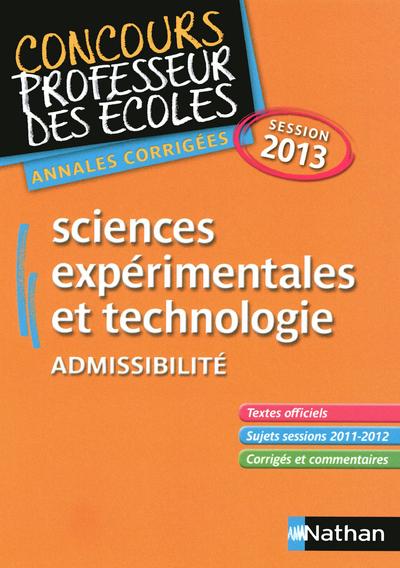 SCIENCES EXPER & TECHNO 13 ADM