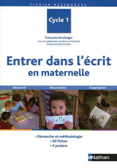 ENTRER DS L'ECRIT EN MATERNELL