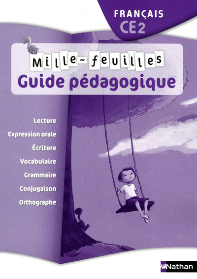 MILLE FEUILLES CE2 GUIDE PEDAG