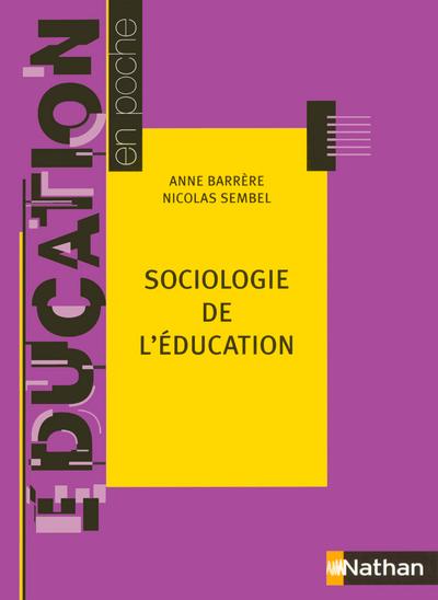 SOCIOLOGIE DE L EDUCATION