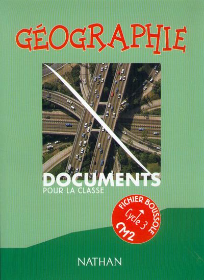 BOUSSOLE GEOGRAPHIE CM2 MAITRE
