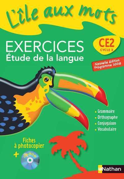 ILE AUX MOTS FICH EX+CDR CE2