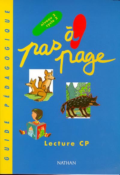 PAS A PAGE CP GUIDE PEDAGOGIQ.