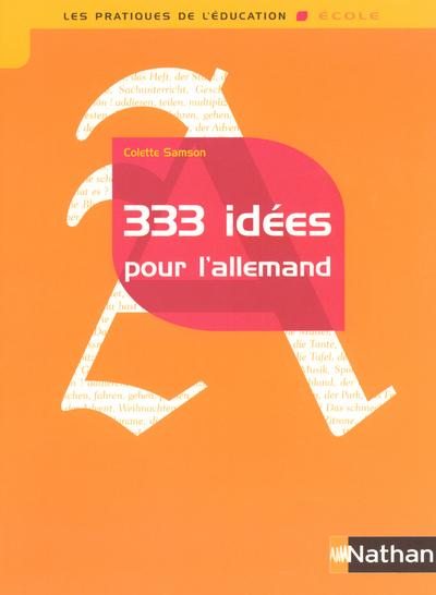 333 IDEES POUR L ALLEMAND