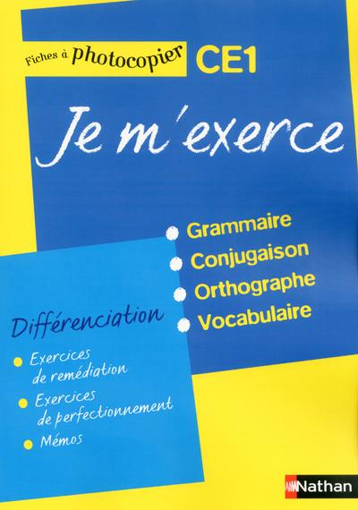 JE M'EXERCE CE1 - FICHES DIFFE