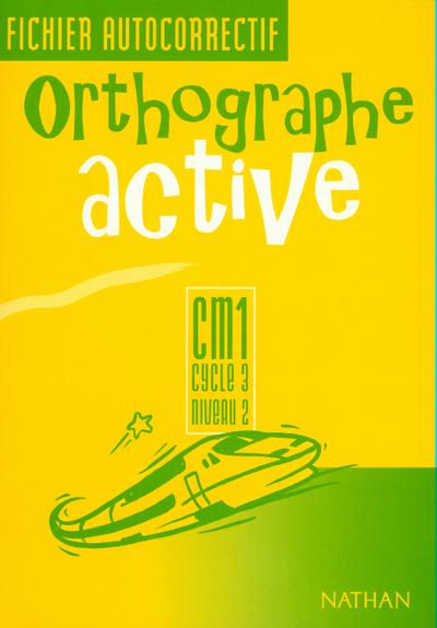 ORTHOGRAPHE ACTIVE CM1 FI AUTO