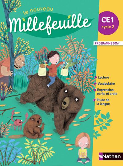 LE NOUVEAU MILLEFEUILLE MANUEL CE1 2017
