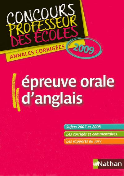 EPREUVE ORALE D ANGLAIS + CD