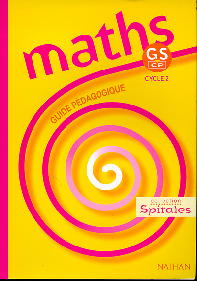MATHS SPIRALES GS CP MAITRE