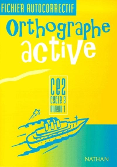 ORTHOGRAPHE ACTIVE CE2 FI AUTO