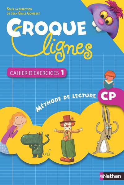 CROQUE-LIGNES CAH EXERC CP1