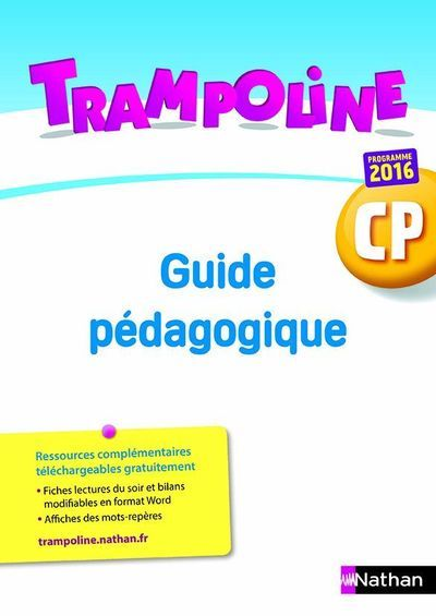 TRAMPOLINE CP - GUIDE PEDAGOGIQUE + RESSOURCES TELECHARGEABLES