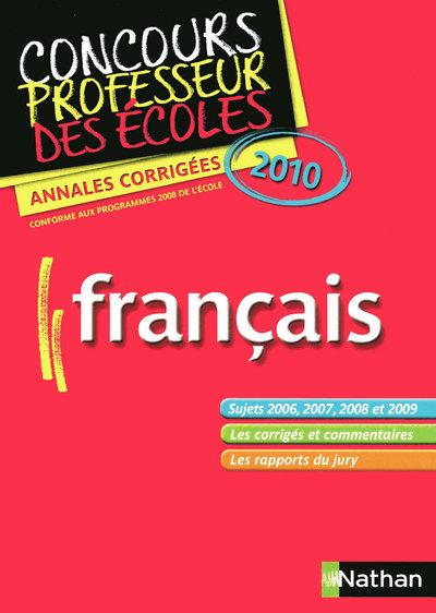 EPREUVE FRANCAIS CRPE 2010