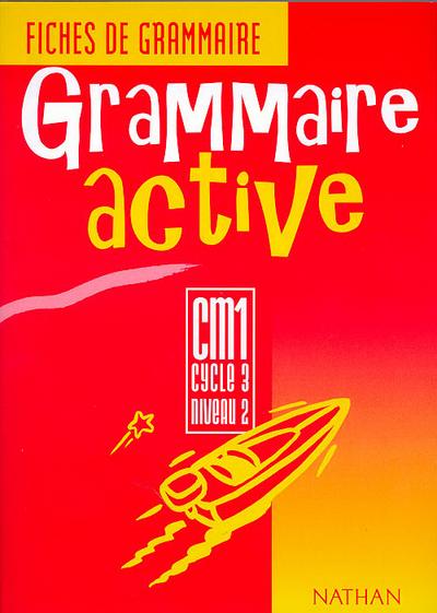 GRAMMAIRE ACTIVE CM1 ELEVE