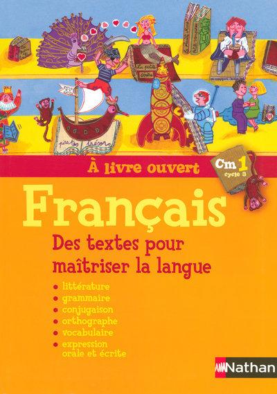 A LIVRE OUVERT CM1 FRANCAIS