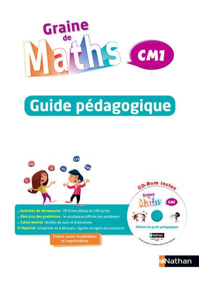 GRAINE DE MATHS CM1 - GUIDE DU MAITRE
