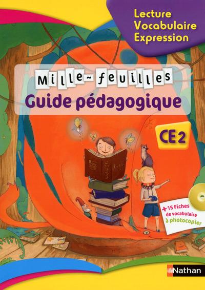 MILLE FEUILLES TEXTES CE2 - GUIDE PEDAGOGIQUE