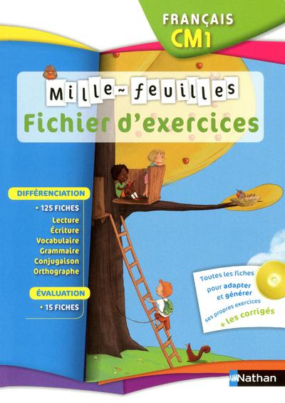 MILLE FEUILLES CM1 FIC EXE +CD