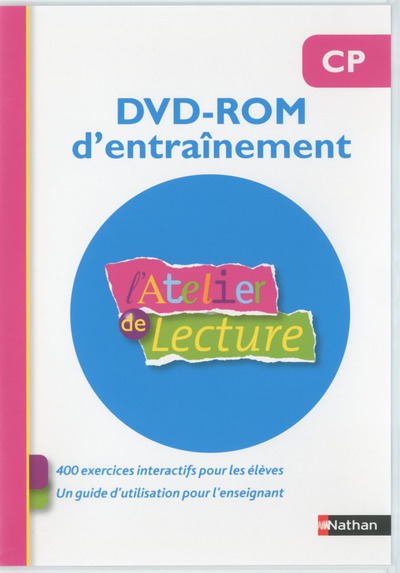 ATELIER DE LECTURE - CD ROM -