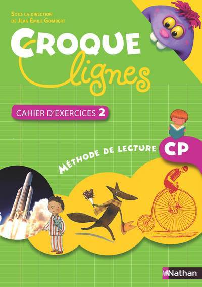 CROQUES-LIGNES- CAHIER EXERCICE CP2