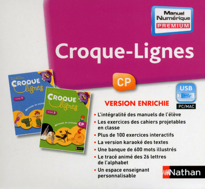 CROQUE-LIGNES - MNE - CLE USB