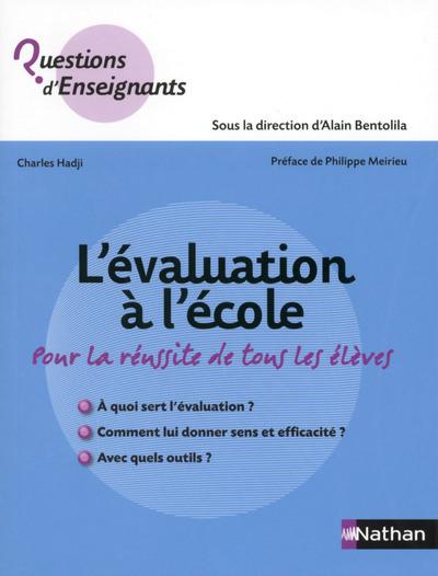 L'EVALUATION A L'ECOLE C1-2-3