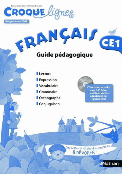 CROQUE-LIGNES FRANCAIS GUI.PED