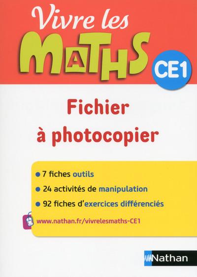 VIVRE LES MATHS CE1 FICHIER A PHOTOCOPIER