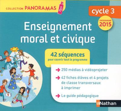 ENSEIGNEMENT MORAL ET CIVIQUE CYCLE 3 - CLE RESSOURCES 2015