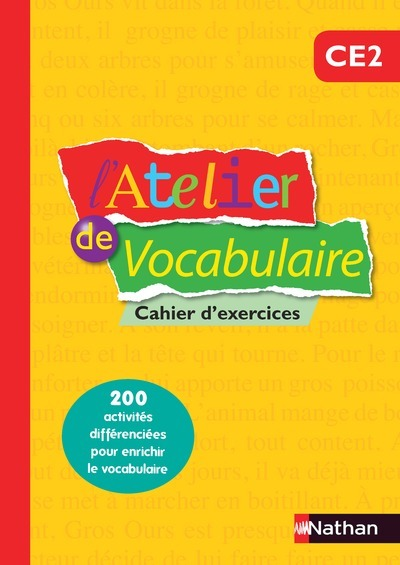 ATELIER DE VOCABULAIRE CAH EXE