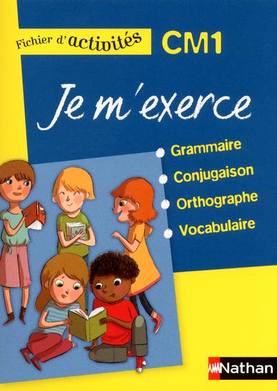 JE M'EXERCE-FICH.ELEVE- CM1 -