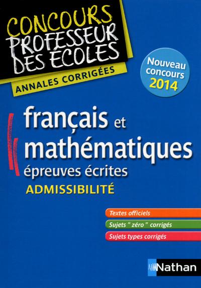 ANNALES-FRANCAIS-MATHS-EPREUVE